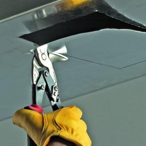 Вертикальные ножницы по металлу, левые